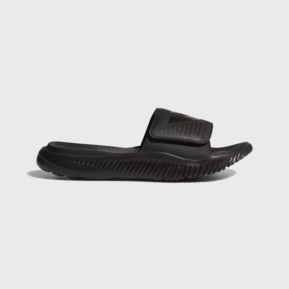 Adidas Alphabounce Basketball Mens Slides/Slippers - Black